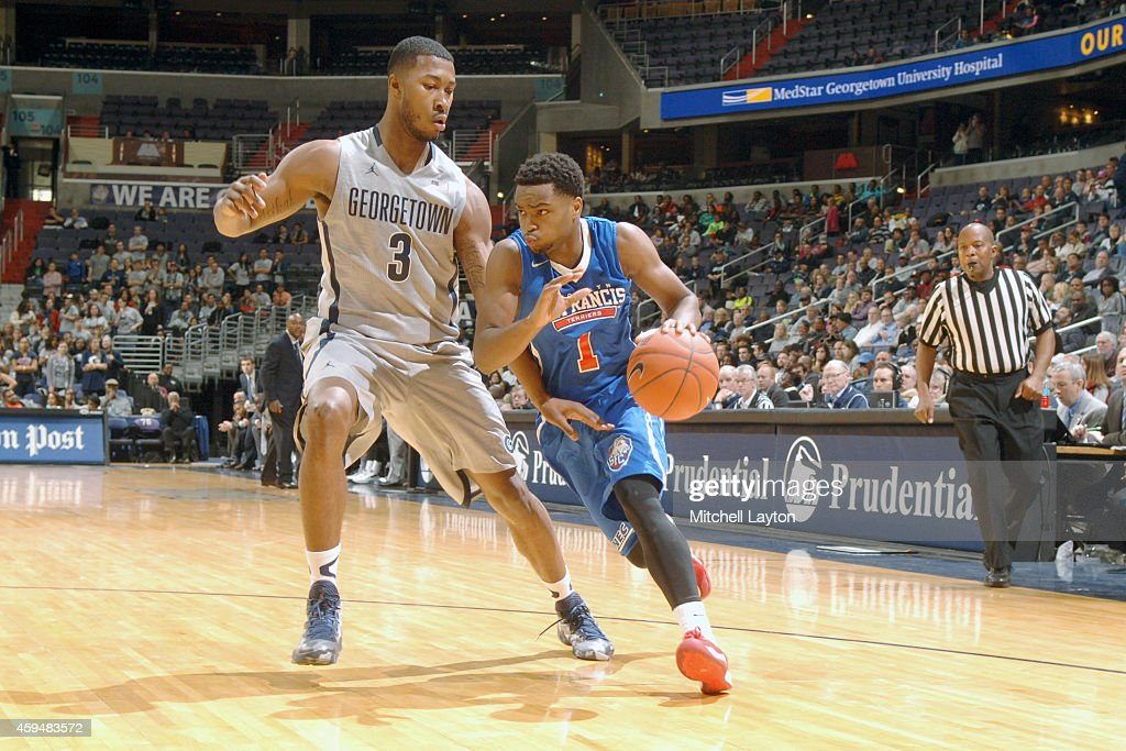 St Francis v Georgetown