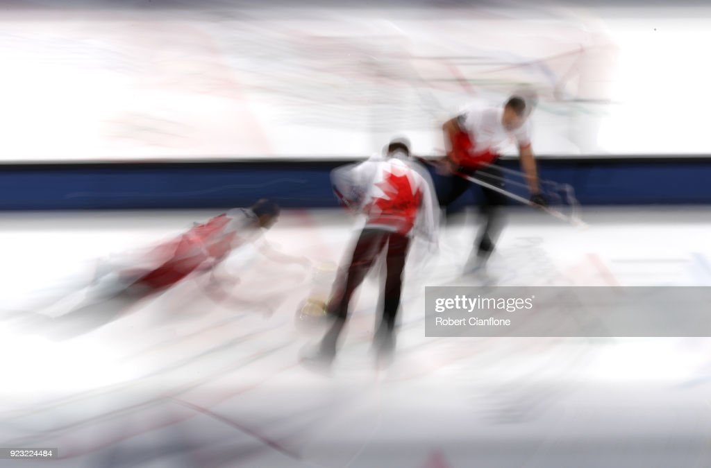Curling - Winter Olympics Day 14