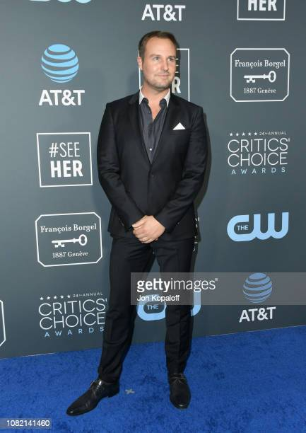Brent Miller attends the 24th annual Critics' Choice Awards at Barker Hangar on January 13 2019 in Santa Monica California
