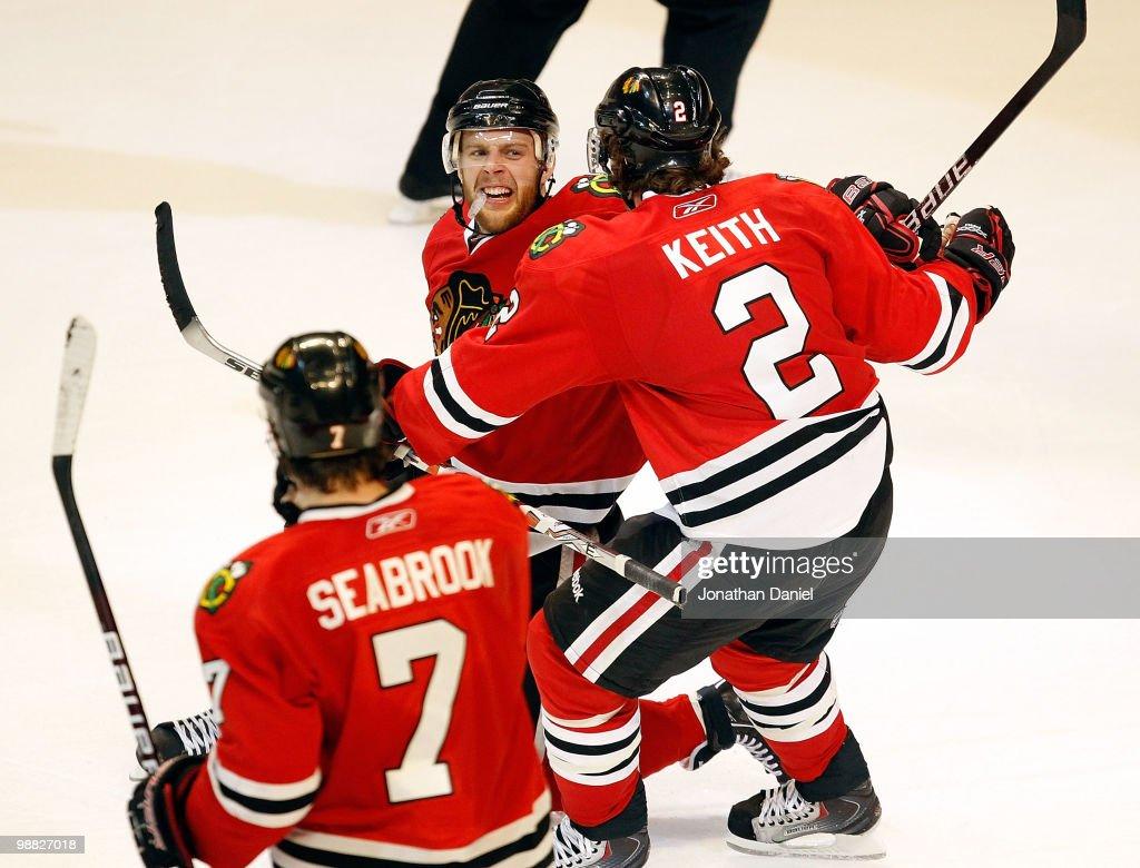Vancouver Canucks v Chicago Blackhawks - Game Two