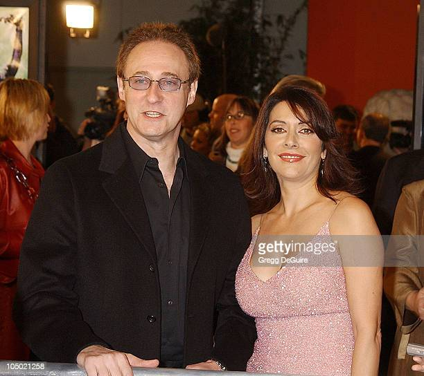 "Brent Spiner & Marina Sirtis during ""Star Trek: Nemesis"" World Premiere at Grauman's Chinese Theatre in Hollywood, California, United States."