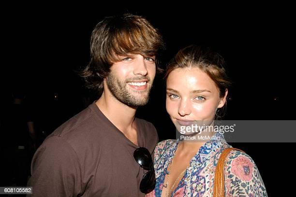 Brent T and Miranda Kerr attend Patrick McMullan Dave Zinczenko invite you to a Summer BBQ for Eric Kimberly Villency at 12 Southampton Hills Court...