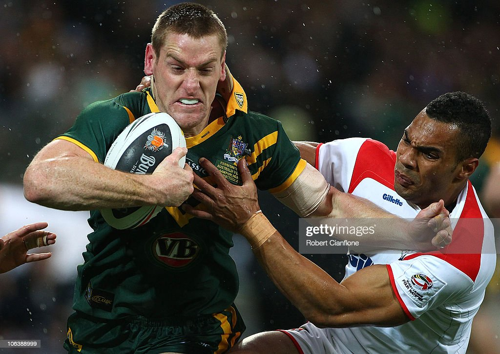 Australia v England - Four Nations