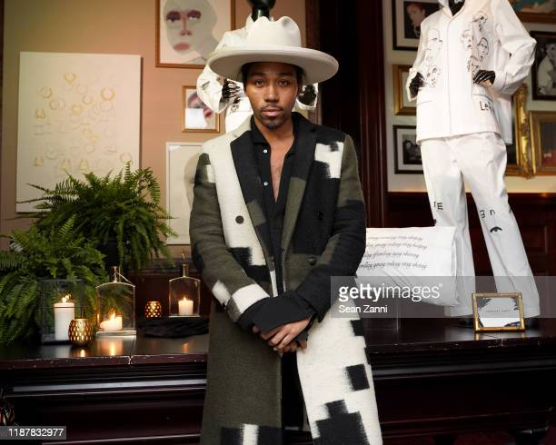 Brenten Williams joins Swizz Beatz and the Marriott Bonvoy™ American Express® Credit Card portfolio Celebrate Women in Art on November 14 2019 in New...