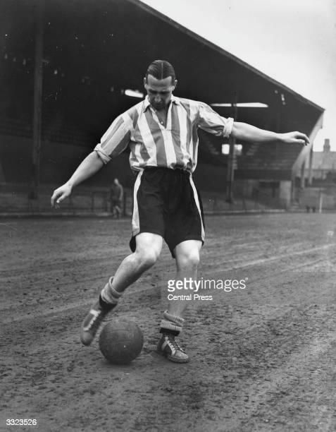Brentford footballer Tommy Lawton .