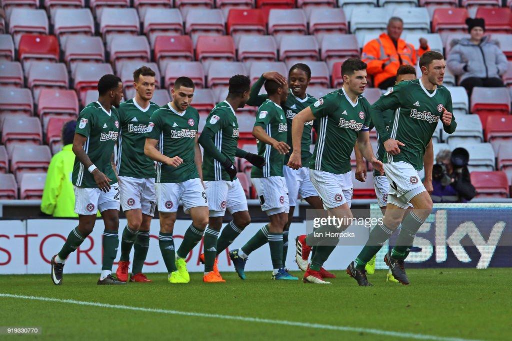 Sunderland v Brentford - Sky Bet Championship
