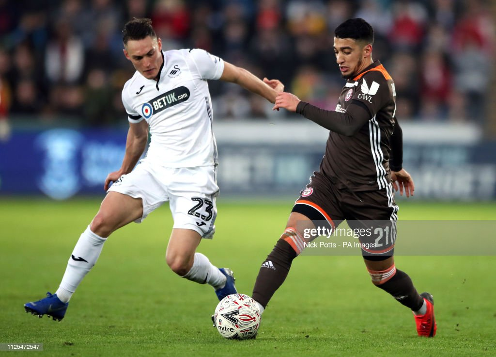 Swansea City v Brentford - FA Cup - Fifth Round - Liberty Stadium : News Photo