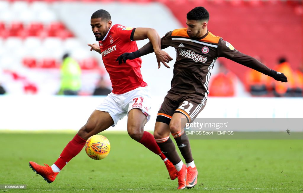 Nottingham Forest v Brentford - Sky Bet Championship - The City Ground : News Photo