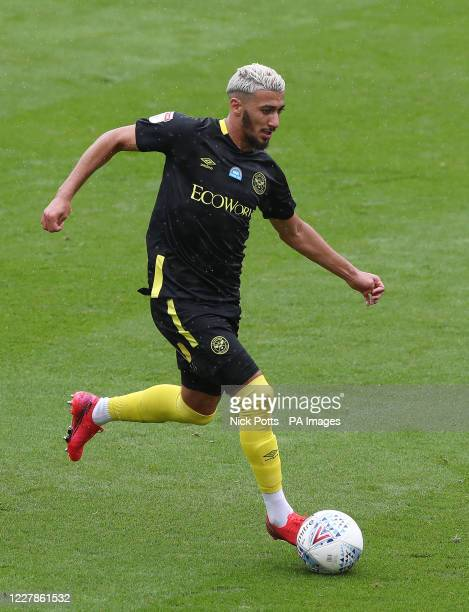 Brentford's Said Benrahma during the Sky Bet Championship match at the Bet365 Stadium Stoke