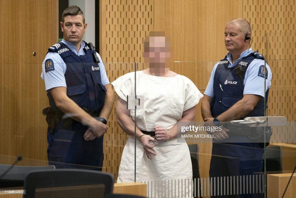 TOPSHOT-NZEALAND-ATTACK-SHOOTING-CRIME-MOSQUE : News Photo
