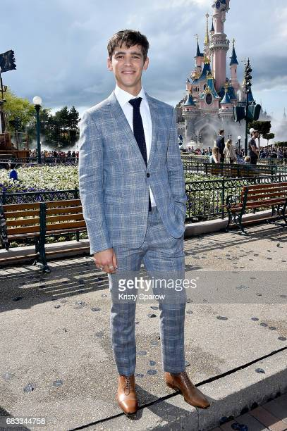 PARIS MAY 14 Brenton Thwaites attends the European Premiere to celebrate the release of Disney's Pirates of the Caribbean Salazar's Revenge at...