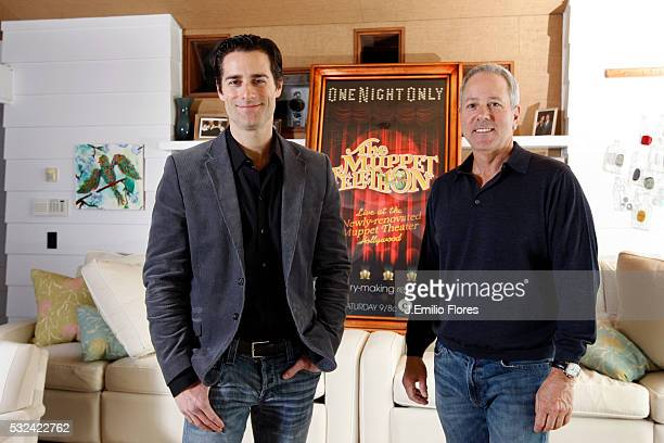Brentwood CA 032011 Todd Lieberman David Hoberman producers of The Muppets movie Photo by J Emilio Flores/CORBIS