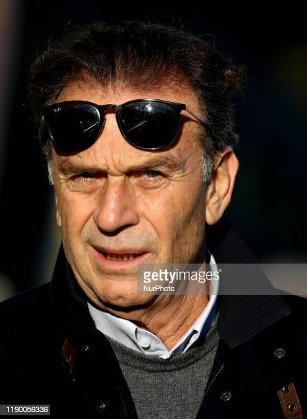 Brescia owner Massimo Cellino during the football Serie A match Parma v Brescia at the Tardini Stadium in Parma Italy on December 22 2019