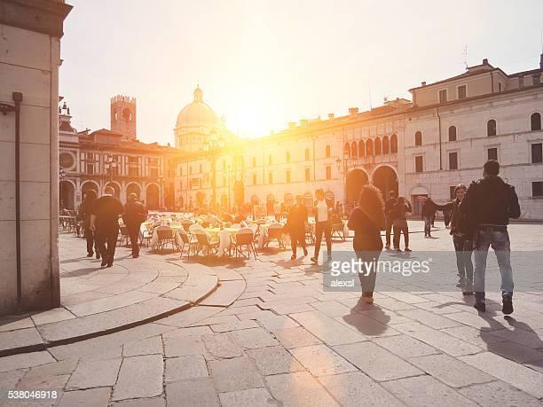 Brescia Piazza della Loggia, northern Italy