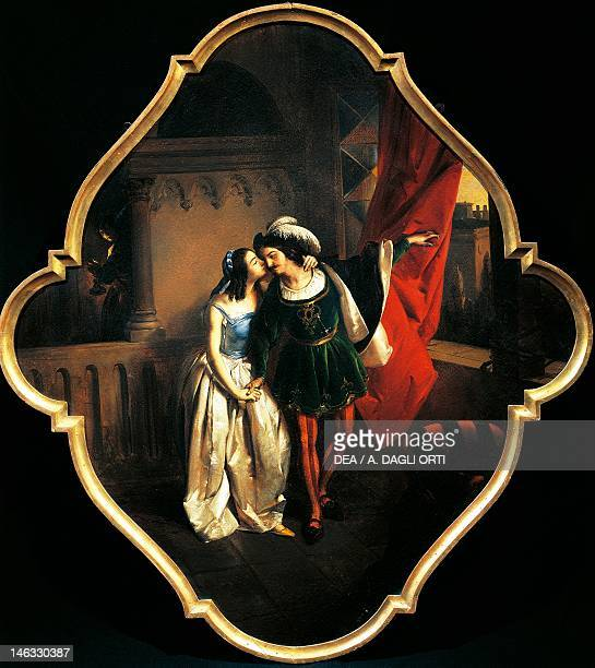 Brescia Pinacoteca TosioMartinengo Romeo and Juliet 18501874 by Angelo Inganni oil on canvas 90x98 cm