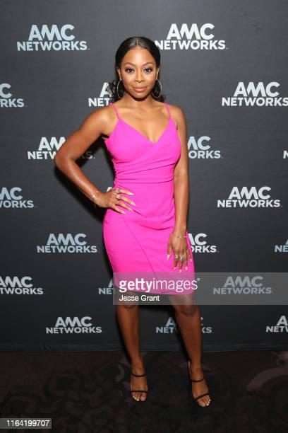 Bresha Webb attends the AMC Networks portion of the Summer 2019 TCA Press Tour on July 25 2019 in Los Angeles California