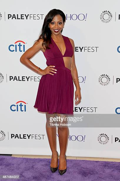 Bresha Webb attends the PaleyFest 2015 fall TV preview at The Paley Center for Media on September 9 2015 in Beverly Hills California
