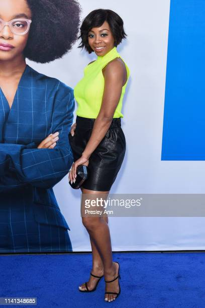Bresha Webb attends The Premiere Of Universal Pictures Little at Regency Village Theatre on April 08 2019 in Westwood California