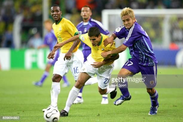 RICARDINHO / INAMOTO Bresil / Japon Coupe du Monde 2006 Dortmund Allemagne