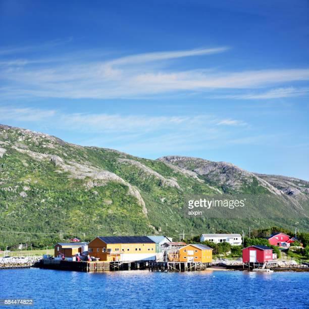 Aldea de Bresnholmen, Noruega