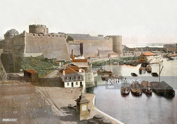 Brest castle postcard c 1900