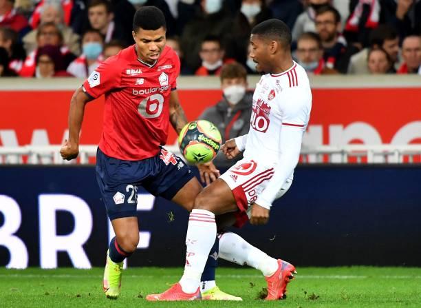 FRA: Lille OSC v Stade Brestois 29 - Ligue 1 Uber Eats