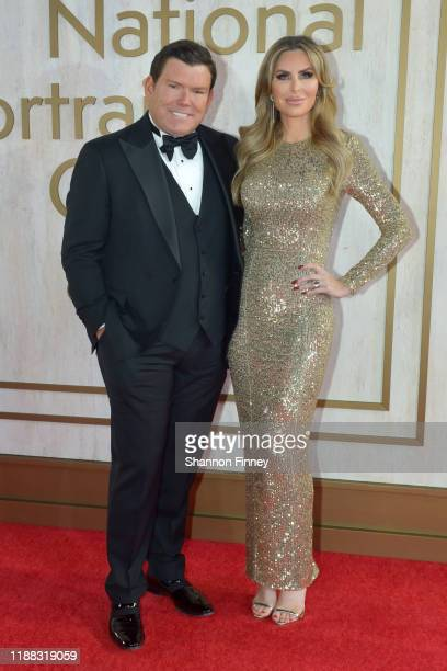 Bret and Amy Baier attend the 2019 American Portrait Gala at the Smithsonian National Portrait Gallery on November 17 2019 in Washington DC