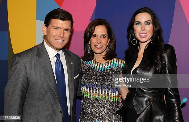 Bret Baier Beth Dozoretz and Amy Baier attend Art In Embassies 50th Anniversary Celebration at Smithsonian National Museum Of American History on...