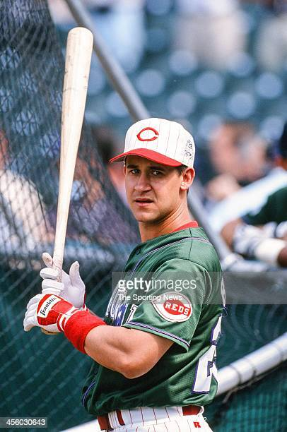 Bret Boone of the Cincinnati Reds during the All-Star Game on July 7, 1998 at Coors Field in Denver, Colorado.