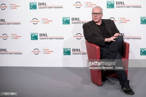 Bret Easton Ellis attends the photocall during the 14th Rome Film Festival on October 20 2019 in Rome Italy