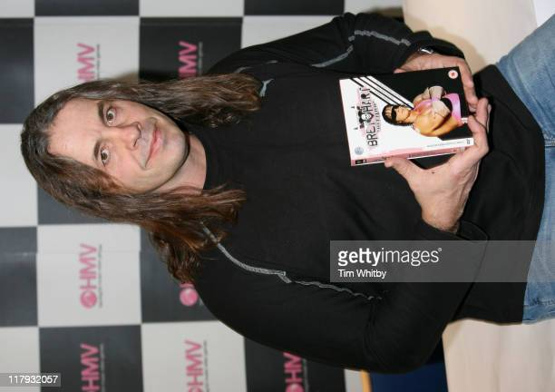 Bret 'Hitman' Hart during Bret 'Hitman' Hart Launches 'Bret 'Hitman' Hart The Best There Is The Best There Was The Best There Ever Will Be' DVD at...