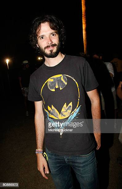 Bret McKenzie from Flight of the Conchords in the audience during day 3 of the Coachella Valley Music and Arts Festival at the Empire Polo Field on...