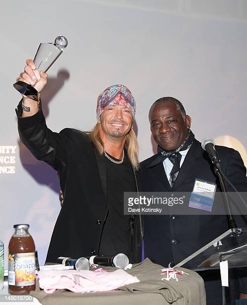Bret Michaels and Board President Sylvester Wilkins attends the 5th annual Diversity Alliance Exposition and Networking Conference at the Renaissance...