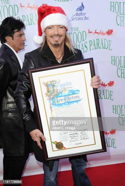 Bret Michaels arrives for the 88th Annual Hollywood Christmas Parade held on December 1 2019 in Hollywood California