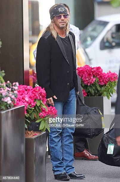 Bret Michaels is seen on May 11 2012 in New York City
