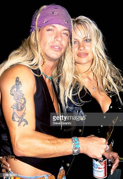 Bret Michaels of Poison and Pamela Anderson