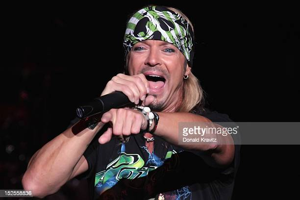 Bret Michaels performs at the Tropicana Showroom on September 21 2012 in Atlantic City New Jersey
