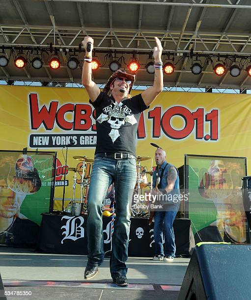 Bret Michaels performs at the WCBSFM Scott Shannon In The Morning Summer Blast Off 2016 at Seaside Heights Boardwalk on May 27 2016 in Seaside...