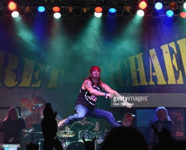 Bret Michaels performs at Tree Town Music Festival Day 1 on May 25 2017 in Forest City Iowa