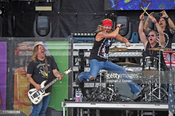 Bret Michaels performs during the inaugural 2019 Hometown Rising Country Music & Bourbon Festival at Highland Festival Grounds at Kentucky Expo...