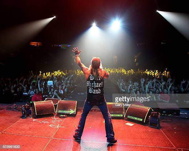 Bret Michaels performs in concert at the Cedar Park Center on April 24 2016 in Cedar Park Texas