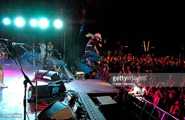 Bret Michaels performs onstage during the 2019 Stagecoach Festival at Empire Polo Field on April 26, 2019 in Indio, California.