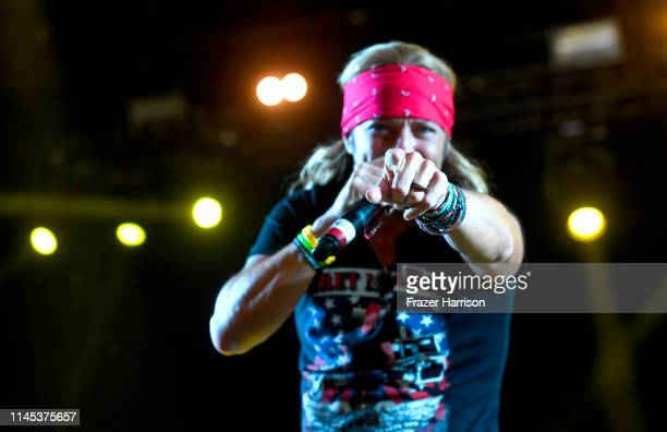 Bret Michaels performs onstage during the 2019 Stagecoach Festival at Empire Polo Field on April 26 2019 in Indio California