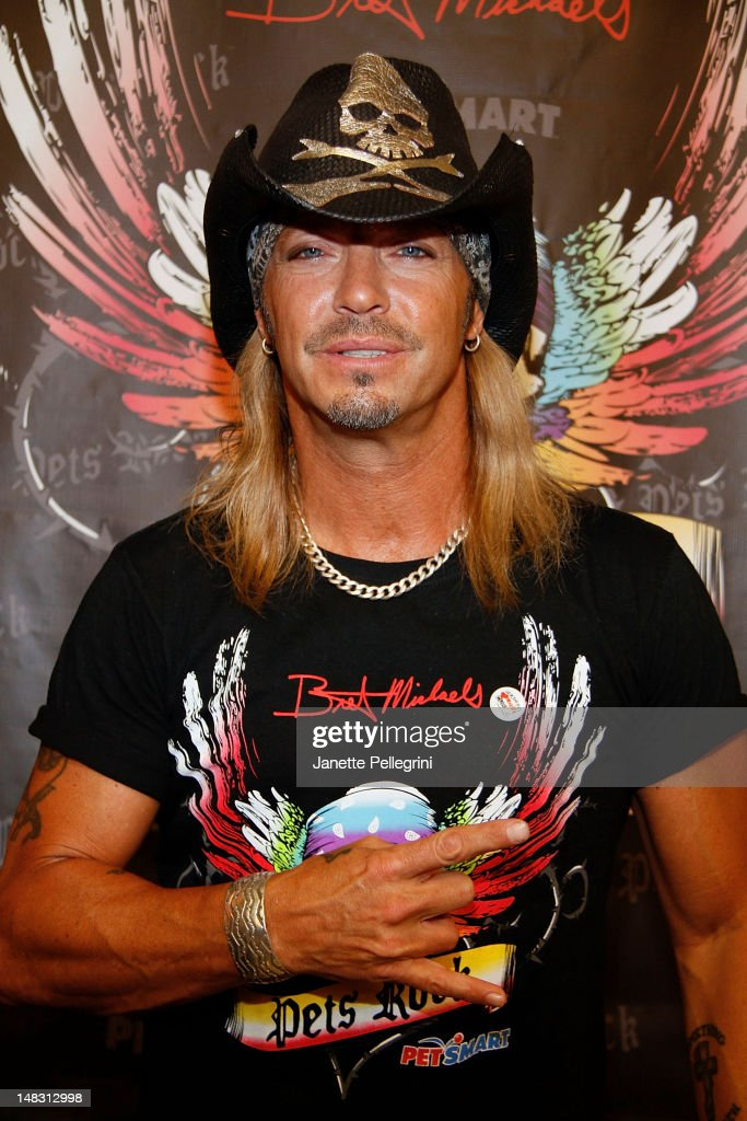 Bret Michaels Promotes The Bret Michaels Pets Rock Line At Petsmart