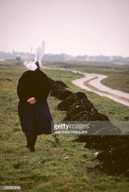 Bretagne Bigouden Woman In France