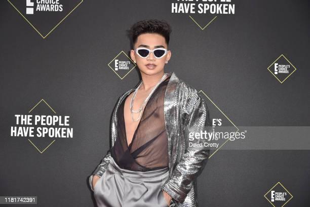 Bretman Rock attends 2019 E People's Choice Awards Arrivals at The Barker Hanger on November 10 2019 in Santa Monica California