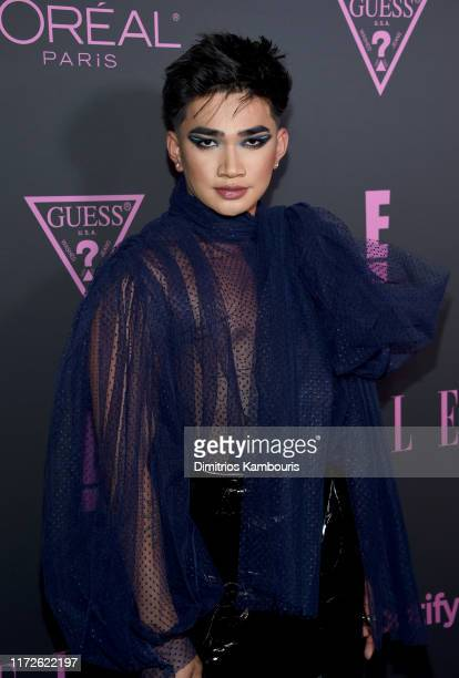 Bretman Rock attends ELLE Women in Music presented by Spotify and hosted by Nina Garcia Jameela Jamil E Entertainment on September 05 2019 in New...