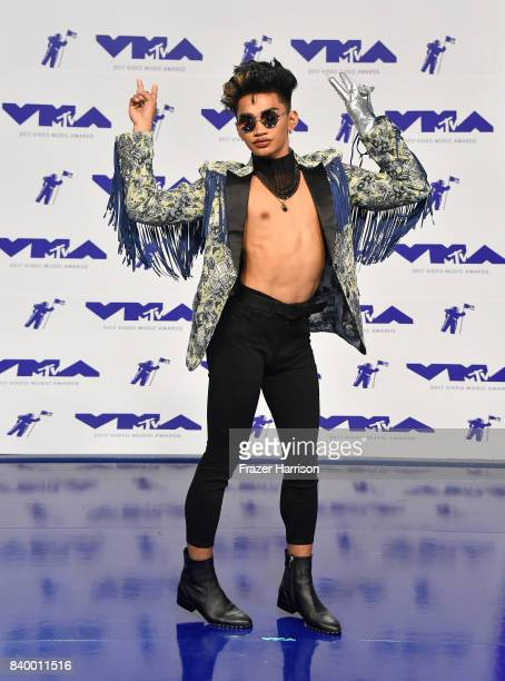 Bretman Rock attends the 2017 MTV Video Music Awards at The Forum on August 27 2017 in Inglewood California