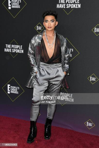 Bretman Rock attends the 2019 E People's Choice Awards at Barker Hangar on November 10 2019 in Santa Monica California