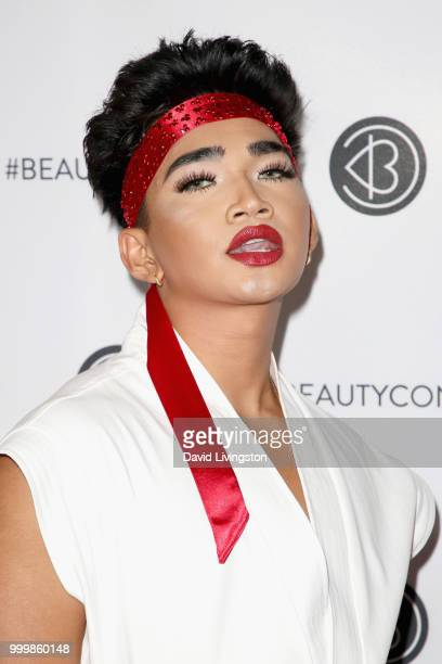 Bretman Rock attends the Beautycon Festival LA 2018 at the Los Angeles Convention Center on July 15 2018 in Los Angeles California